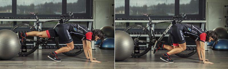 2- Flexo-extensión de cadera resistido prono